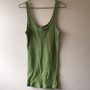 Abercrombie & Fitch Green Tank - L